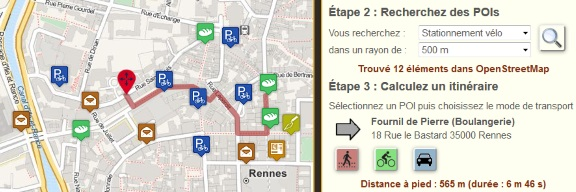 Création de cartes interactives